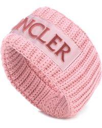 Moncler - Diadema de lana - Lyst