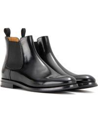 Church's Ankle Boots Monmouth aus Leder - Schwarz