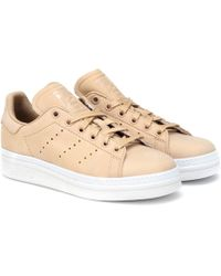 adidas Originals Stan Smith New Bold Leather Trainers - Multicolour