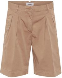 Woolrich W's Stretch-cotton Shorts - Natural