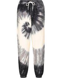 Polo Ralph Lauren Pantalon de survêtement en coton tie & dye - Gris
