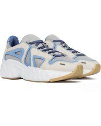 Acne Studios Faux Suede Sneakers - Blue