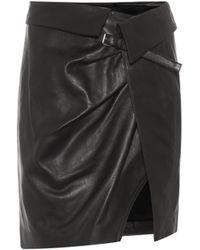 Isabel Marant - Baixa Leather Wrap Skirt - Lyst