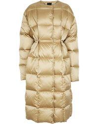 Givenchy Down Puffer Coat - Metallic