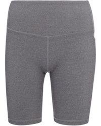 Tory Sport Stretch-jersey Biker Shorts - Grey