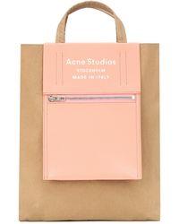 Acne Studios Baker Out Medium Nylon Tote - Brown
