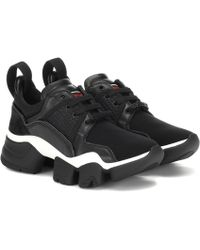 Givenchy Sneakers Low Jaw mit Leder - Schwarz