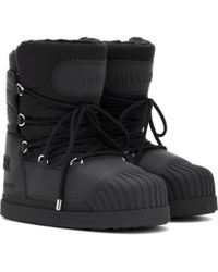Moncler X Moon Boot® Uranus Ankle Boots - Black