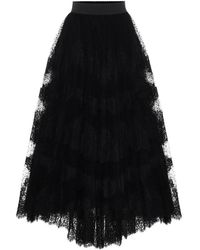 Dolce & Gabbana Gonna in tulle - Nero
