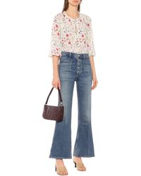 Citizens of Humanity High-Rise Flared Jeans Maisie - Blau