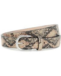Isabel Marant Cintura Zap in pelle stampata - Multicolore