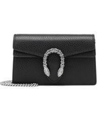 Gucci Dionysus Super Mini Bag - Black