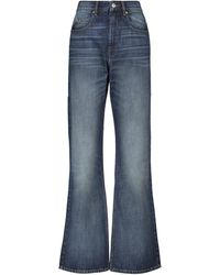 Étoile Isabel Marant High-Rise Bootcut Jeans Belvira - Blau
