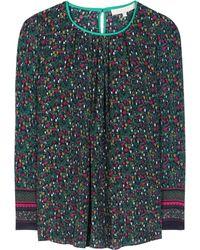 Vanessa Bruno | Printed Silk Blouse | Lyst