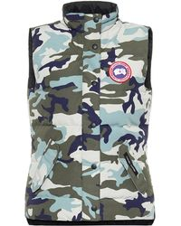 Canada Goose Freestyle Camouflage Down Vest - Green