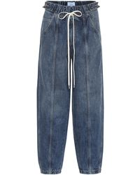 Givenchy Denim Trackpants - Blue