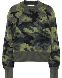 Proenza Schouler - Pswl Camouflage Wool-blend Sweater - Lyst