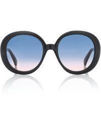 Gucci - Gafas de sol redondas - Lyst