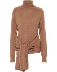 JW Anderson Wool Turtleneck Sweater - Brown
