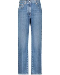 Gucci High-rise Straight Jeans - Blue