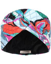Emilio Pucci - Quilted Stretch Silk Turban - Lyst