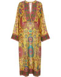 Valentino Exclusive To Mytheresa – Printed Cotton And Silk Kaftan - Multicolour