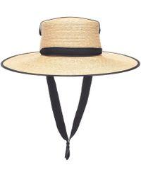 Lola Hats Abito Zorro in paglia - Multicolore