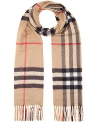 Burberry Bufanda Giant Icon de cachemir - Neutro