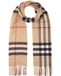 Burberry Giant Icon Cashmere Scarf - Multicolour