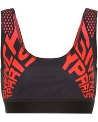 Givenchy Stretch-jersey Sports Bra - Black