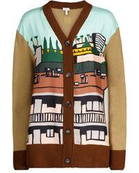 Loewe X Ken Price Wool And Silk Cardigan - Multicolor