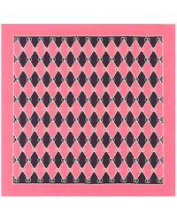 Gucci - Foulard en soie imprimée - Lyst