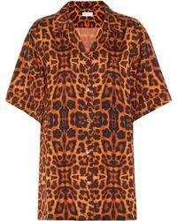 Dries Van Noten Camicia a stampa leopardo - Multicolore