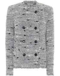 Étoile Isabel Marant Jorson Tweed Jacket - Grey