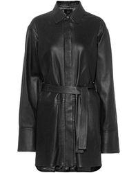 JOSEPH Jason Leather Jacket - Black
