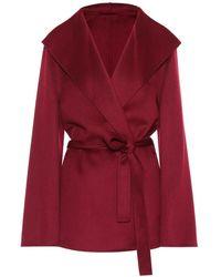 JOSEPH Giacca Lima in lana e cashmere - Rosso