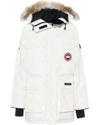 Canada Goose White Down Expedition Parka
