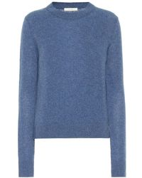 The Row Pullover Muriel in cashmere - Blu