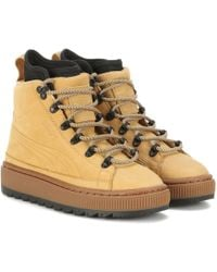 PUMA | The Ren Leather Ankle Boots | Lyst