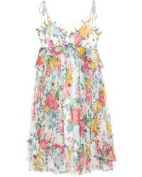 Zimmermann - Exclusive To Mytheresa. Com – Floral-printed Silk Dress - Lyst