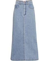 Nanushka Gonna di jeans Claudia - Blu