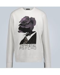 Undercover Japanese Psycho Crewneck Sweatshirt - White