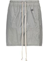 Rick Owens X Champion® falda pantalón - Gris