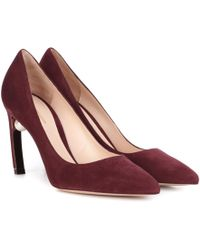 Nicholas Kirkwood - Mira Suede Court Shoes - Lyst