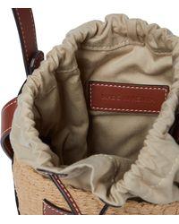 Chloé Bucket-Bag Small - Braun