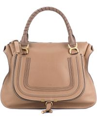 Chloé - Marcie Large Leather Tote - Lyst