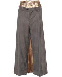 Junya Watanabe Hybrid Skirt And Trousers - Multicolour
