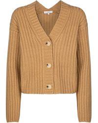 Vince Cardigan en laine et cachemire - Neutre