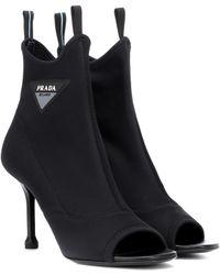 Prada Stiefel für Damen - Schwarz