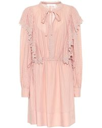 See By Chloé Cotton-voile Minidress - Pink
